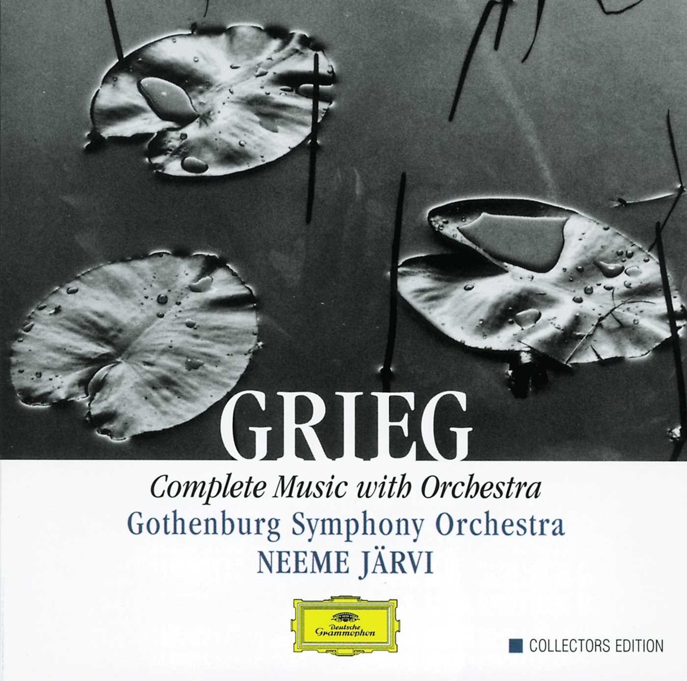 Grieg: Complete Music With Orchestra by BOX IRRESISTIBILI, BOX CLASSICA, ROMANTICO, MUSICA SINFONICA,