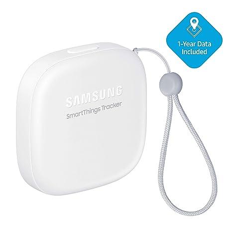 Samsung SmartThings Tracker [SM-V110AZWAATT] Live GPS-Enabled Tracking via  Nationwide LTE-M Networks | Use for Kids, Cars, Keys, Pets Wallets,