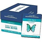 "Hammermill - Laser Print Paper, 24lb, 98 Bright, 8.5 x 11"" - Ream (Pack 5)"