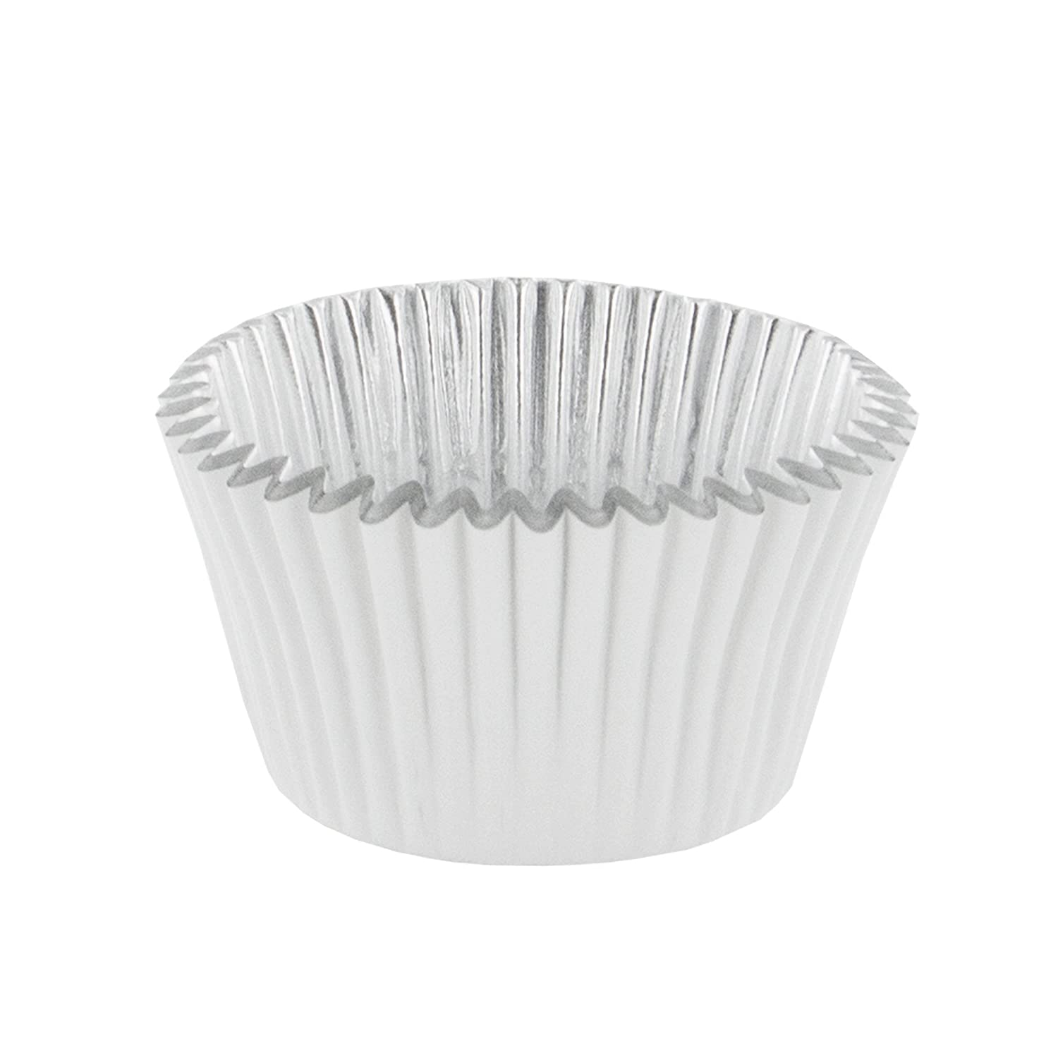 Standard PME BC769 Deep Foil Lined Cupcake Baking Cups White