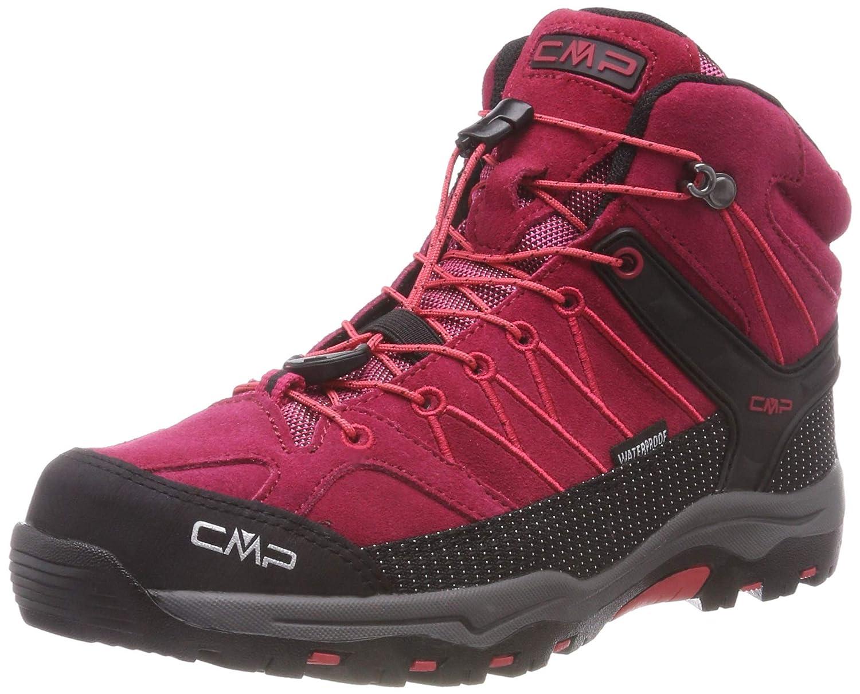 Rouge (Granita-corallo 72bm) 38 EU CMP  - Rigel Mid - Chaussures de Randonnée - Mixte Enfant