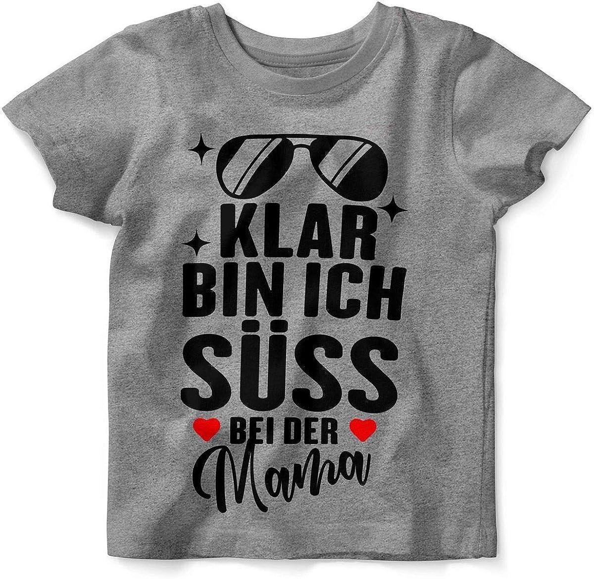 Mikalino Baby T-Shirt Ich Liebe Meine Mama Kurzarm