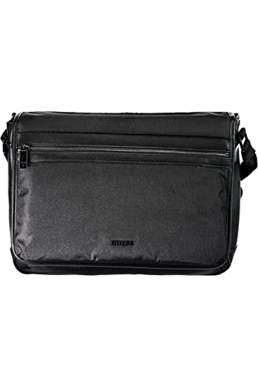 90b03fa4f2 GUESS JEANS HM6576POL84 Shoulder bag Men NERO BLA UNI  Amazon.co.uk ...