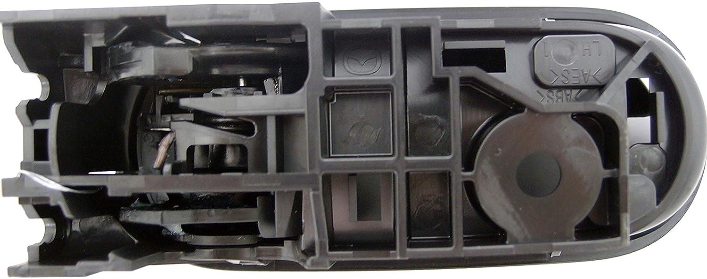 Dorman 96549 Rear Driver Side Interior Door Handle for Select Mazda Models Black