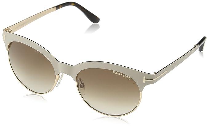 Amazon.com: Tom Ford anteojos de sol TF 438 Angela anteojos ...