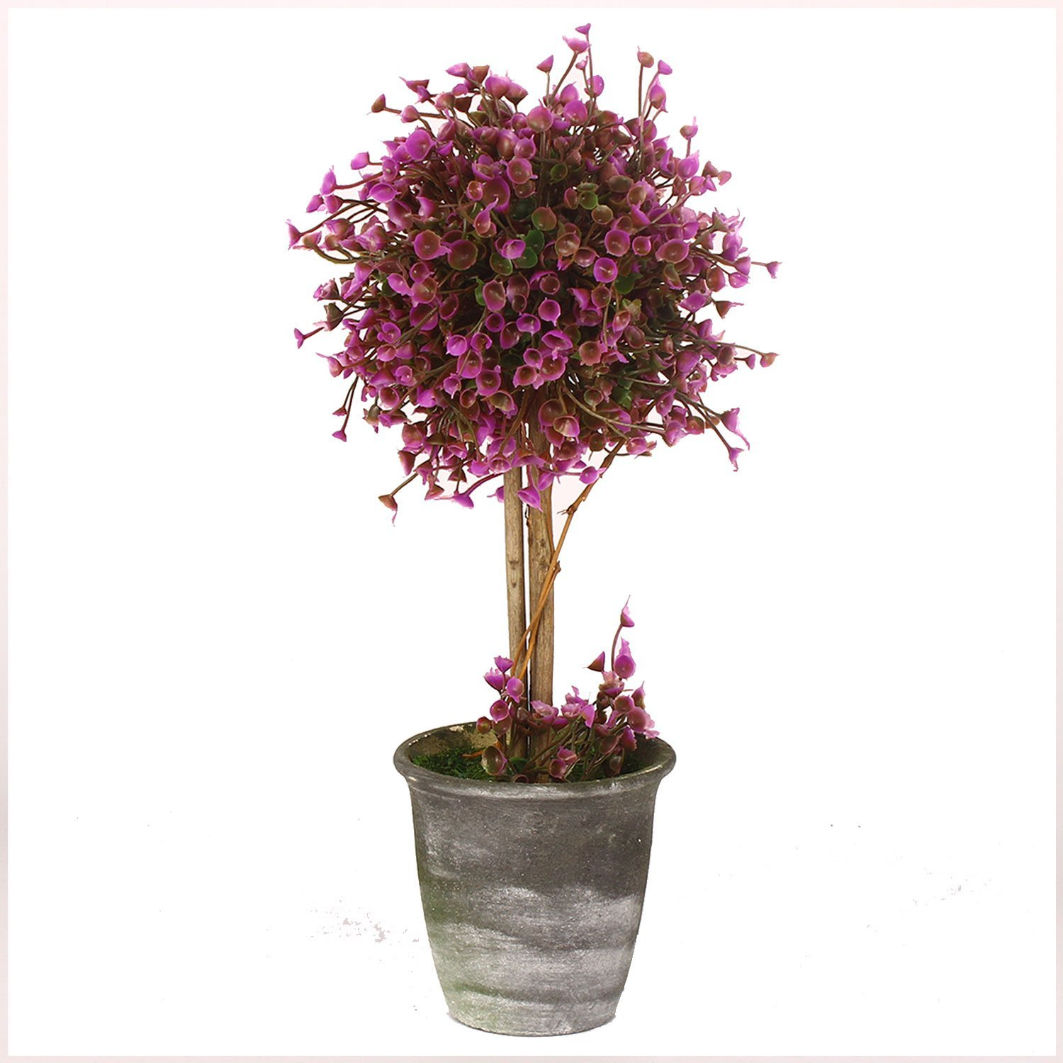 Vgia artificial potted plants retro plastic flowers home for Artificial plants for decoration