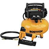 BOSTITCH Air Compressor Combo Kit with Brad Nailer, 1-Tool (BTFP1KIT)