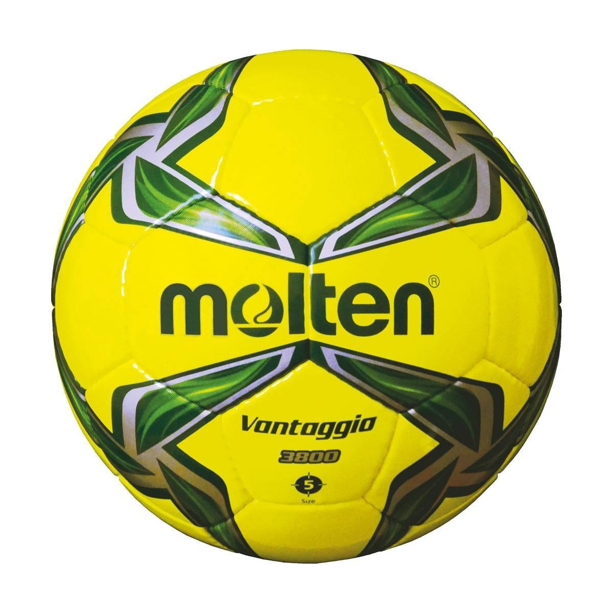 MOLTEN Uni f5V3800de YG Fútbol, Amarillo Verde, 5 MLTN5|#molten F5V3800-YG