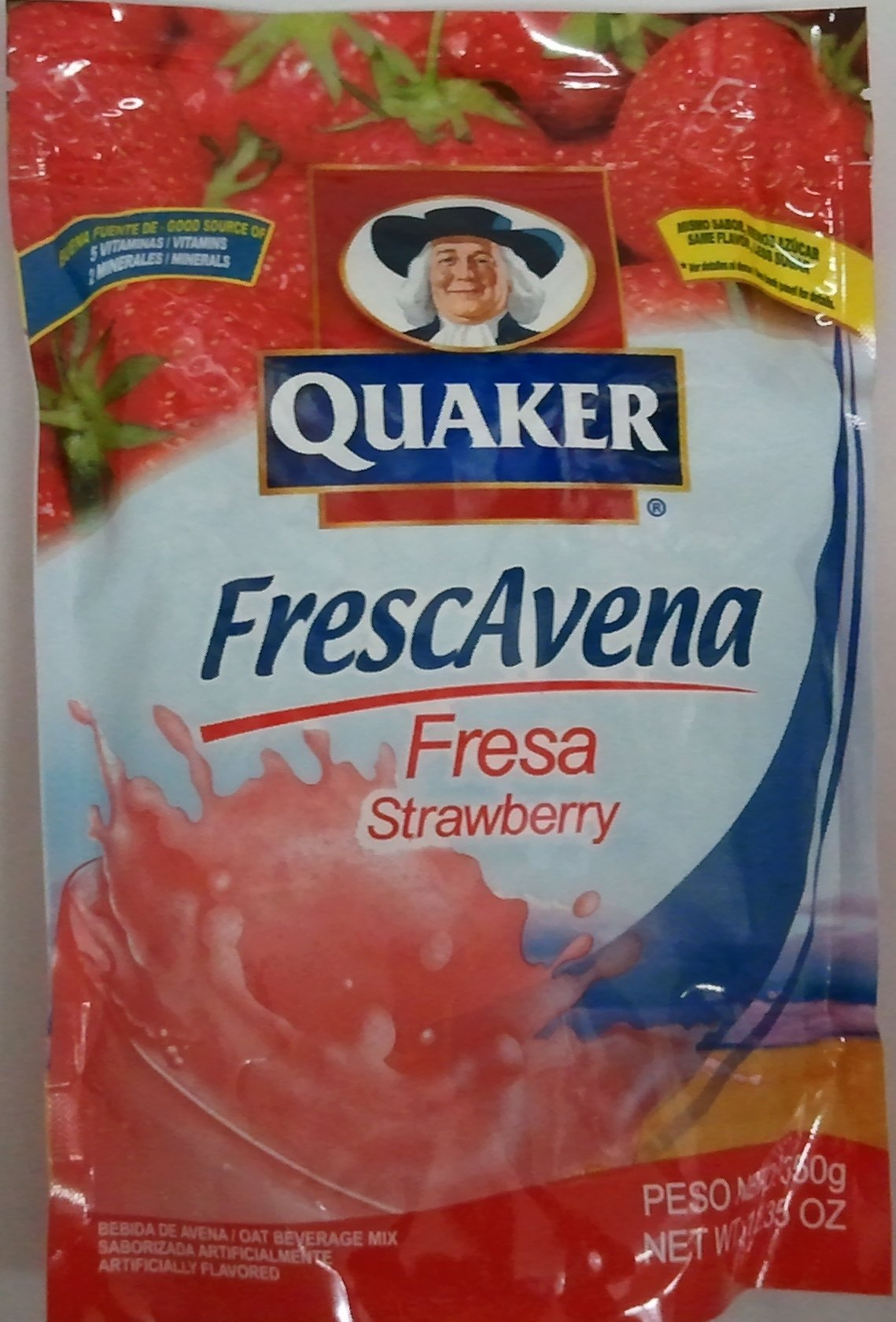 Goya Foods Frescavena Strawberry Flavor, 11.1-Ounce