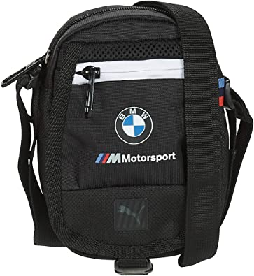 PUMA x BMW M Motorsport Small Portable Shoulder Bag (Black ...
