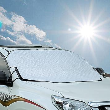Cubierta magnética parabrisas coche helada hielo nieve Escudo Protector De Polvo Parasol