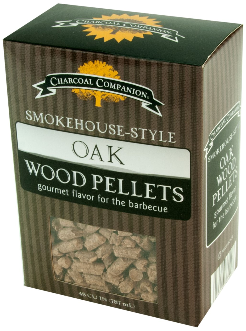Charcoal Companion Pellets de Fumage Style Smokehouse Marron 10 x 6 x 14 cm Pellets de Fumage Style Smokehouse The Companion Group CC6049