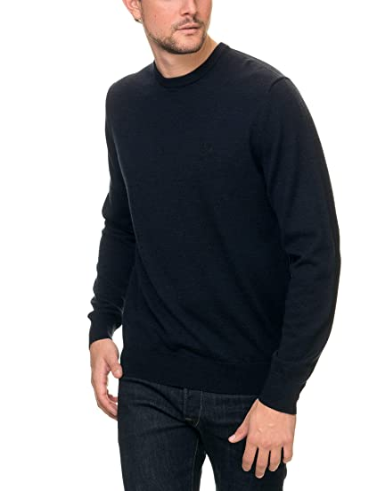 dc482cc32524a3 Fred Perry Men's Classic Crew Neck Sweater: Amazon.co.uk: Clothing