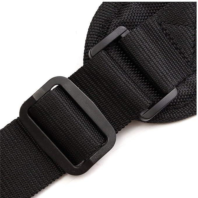JIUZHI - Arnés de doble bandolera ajustable, cómodo, acolchado con ...