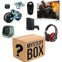 Mystery Box - Nice Gifts The Latest Mobile Phones, Air Conditioning Fan, Motorcycle Drone Combo, Bluetooth Headset…