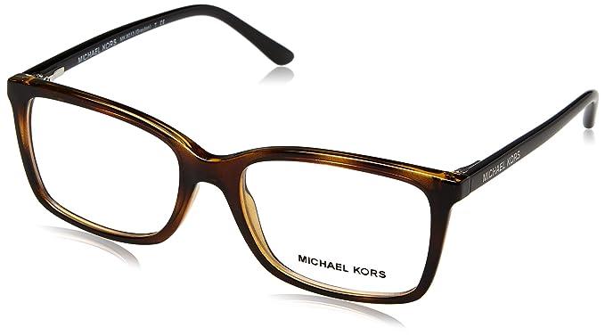 74453bf57cf Michael Kors GRAYTON MK8013 Eyeglass Frames 3057-51 - Tortoise   Black