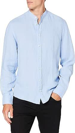 Hackett London Garment Dye Ln PS Camisa para Hombre