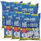 アイリスオーヤマ 紙の猫砂 7L×6袋(まとめ買い)