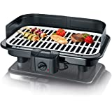 Severin PG 2794 Grill Tabletop Electric 2500W Black,White - barbecues & grills (2500 W, Grill, Electric, 1179 cm², Tabletop, Grate)
