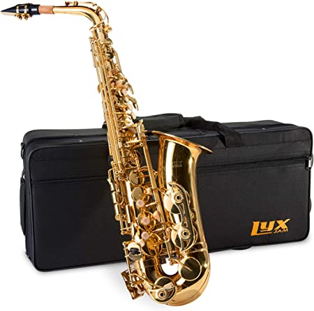 side facing lyxJam saxophone kit