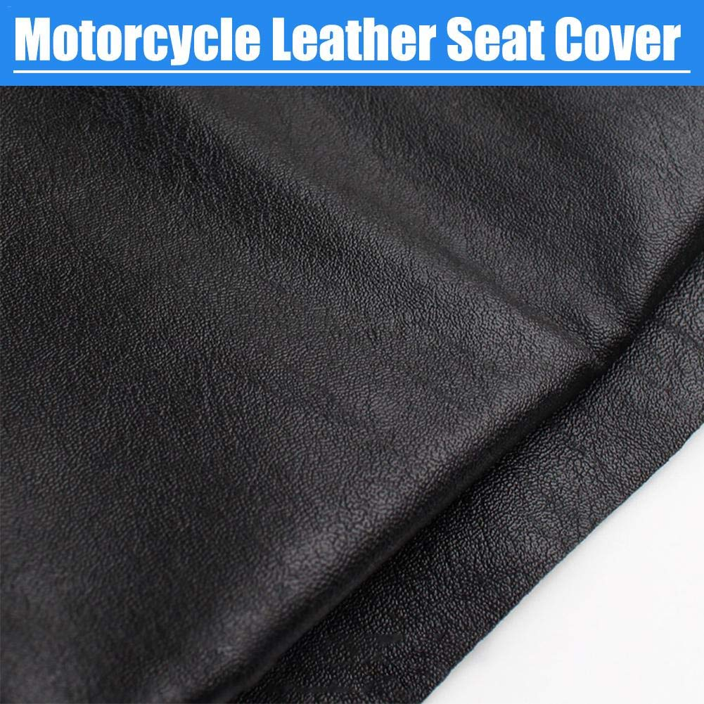 Wear-Resistant Waterproof Motorcycle Protection Seat Cushion Cover Motorcycle Scooter ATV Leather Seat Seat Covers for Bike Motorbike Chiar Protector Mat 63 x 90cm Motorcycle Seat Cover