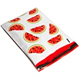 10x13 Red & Green Watermelon Designer Poly Mailers Shipping Envelopes Boutique Custom Bags (100)