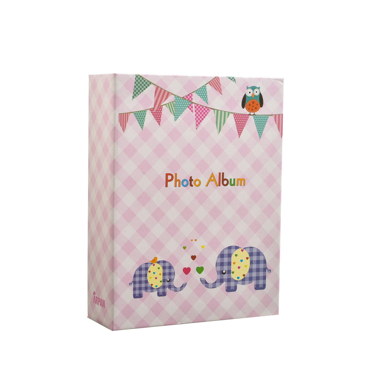 Perfect Gift for Baby /& Kids CL-SM100PE Arpan 6x4 Small Slip in Case Photo Album for 100 Photos Various Design /& Colours