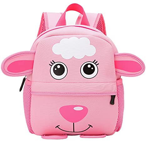 Amazoncom Modarani Little Girls Cute Pink Sheep Printed
