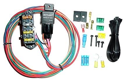 amazon com painless 70114 cirkit boss heavy duty auxiliary fuse rh amazon com painless wiring fuse box