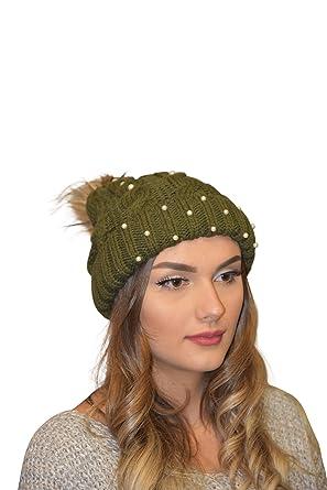Golden Trachten - Ensemble bonnet, écharpe et gants - Femme - Vert - Taille  unique a3a5897b993