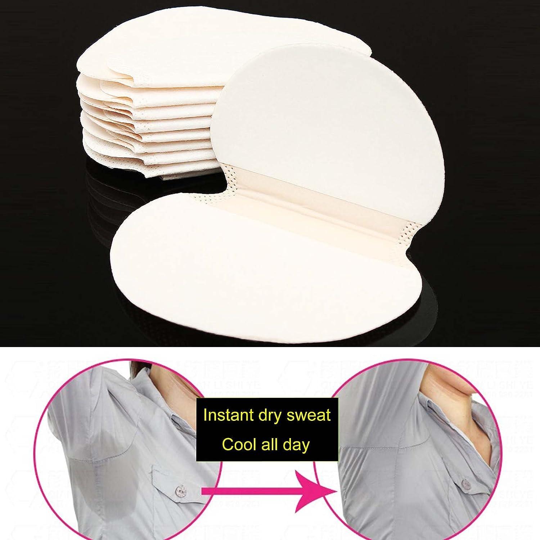 60 Disposable Sweat Pad Antiperspirant Underarm Armpit Guard Sheet Shield Fresh FourGirls
