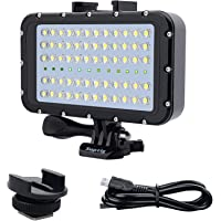 Suptig Video Verlichting Duik Licht Onderwater Lichten 72 Led Lichten Compatibel Voor Gopro Canon Nikon Pentax Panasonic…