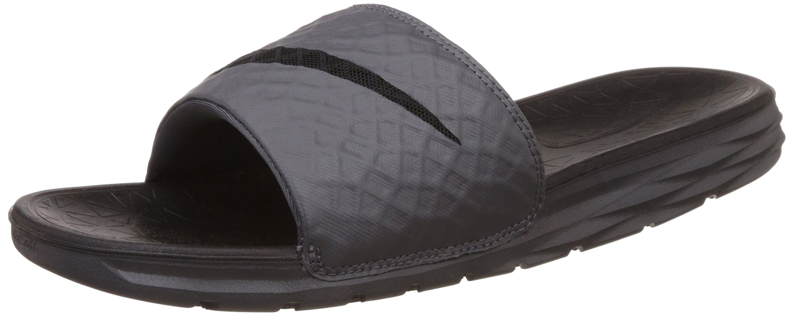 competitive price 0d565 7f4a7 Galleon - NIKE Men s Benassi Solarsoft Slide Sandal, Dark Grey Black, 13  D(M) US