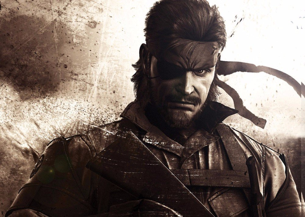 Metal Gear Solid Snake Giant Wall Art Poster Print G606 32x24