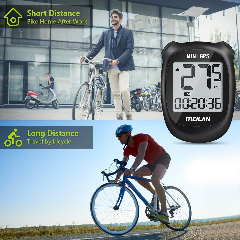 MEILAN M3 Mini GPS Fahrradcomputer Schwarz kabelloser Fahrradkilometerz/ähler und Tachometer Fahrradcomputer IPX6 Wasserdichter Fahrradcomputer f/ür M/änner im Freien Frauen Frauen Teenager Biker
