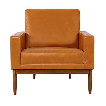 Pleasant Kardiel Stilt Danish Mod Chair Premium Tan Aniline Leather Walnut Caraccident5 Cool Chair Designs And Ideas Caraccident5Info