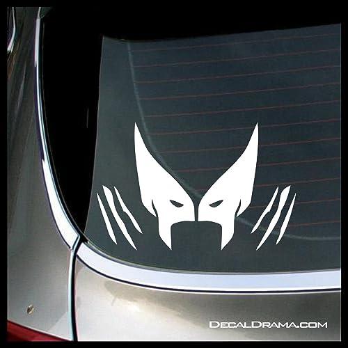 amazon com wolverine emblem small vinyl decal marvel comics x men