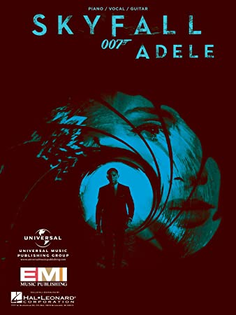 Adele Skyfall From 007 Pianovocalguitar Sheet Music Amazon