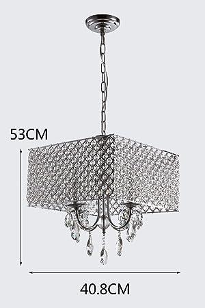 Lámpara Colgante Creativa Lámpara Colgante Cristalina ...