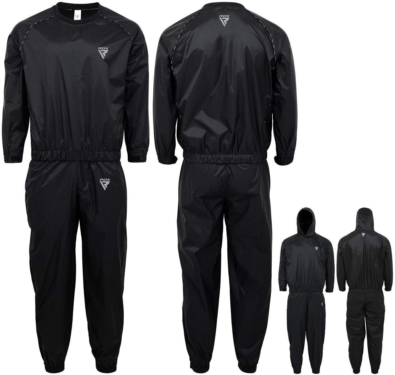 RDX Traje de sudoración para sauna, peso, traje de sauna, chándal ...