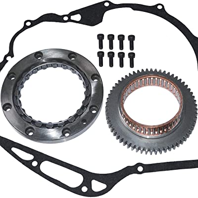 OCTOPUS ADV-B2B45 Yamaha VStar V Star XVS 1100 XVS 1100 Starter Clutch Kit 1999-2009: Automotive