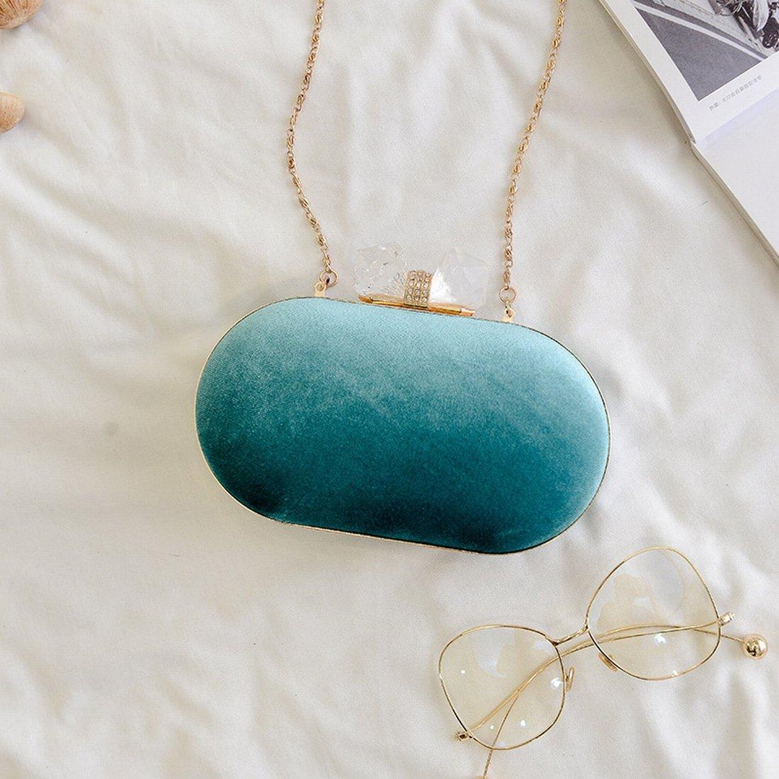 Set Paket-Bankett des Abend Schultertasche aus Kette-Kette Diamanten mit einem Tasche Kosmetik
