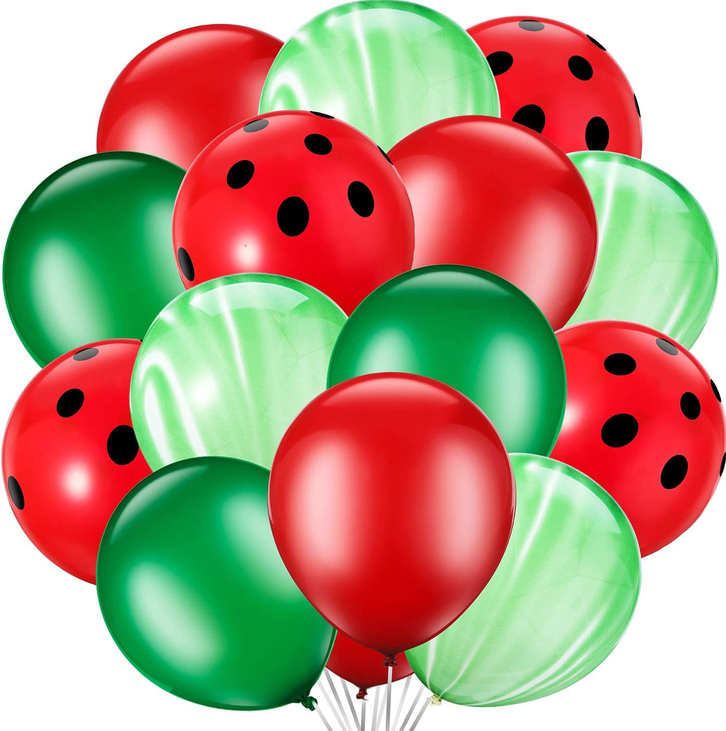17 Outdoor Display Balloons Watermelon Red Birthday Balloons Baby Shower Party Supplies Metallic Pearl Latex HUGE balloons