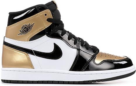 Air Jordan 1 Retro High OG, Scarpe da Basket per uomo, Oro ...