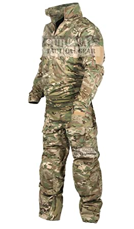 005ecd26 ZAPT Tactical Military Uniform Paintball Airsoft Hunting Army Camo Apparel  Shirt and Pants with Elbow Knee Pads Combat Clothing, Clothing - Amazon  Canada