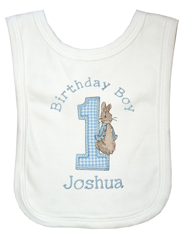 Cake Smash Birthday Boy Boys Peter Rabbit Personalised 1st Birthday T-Shirt