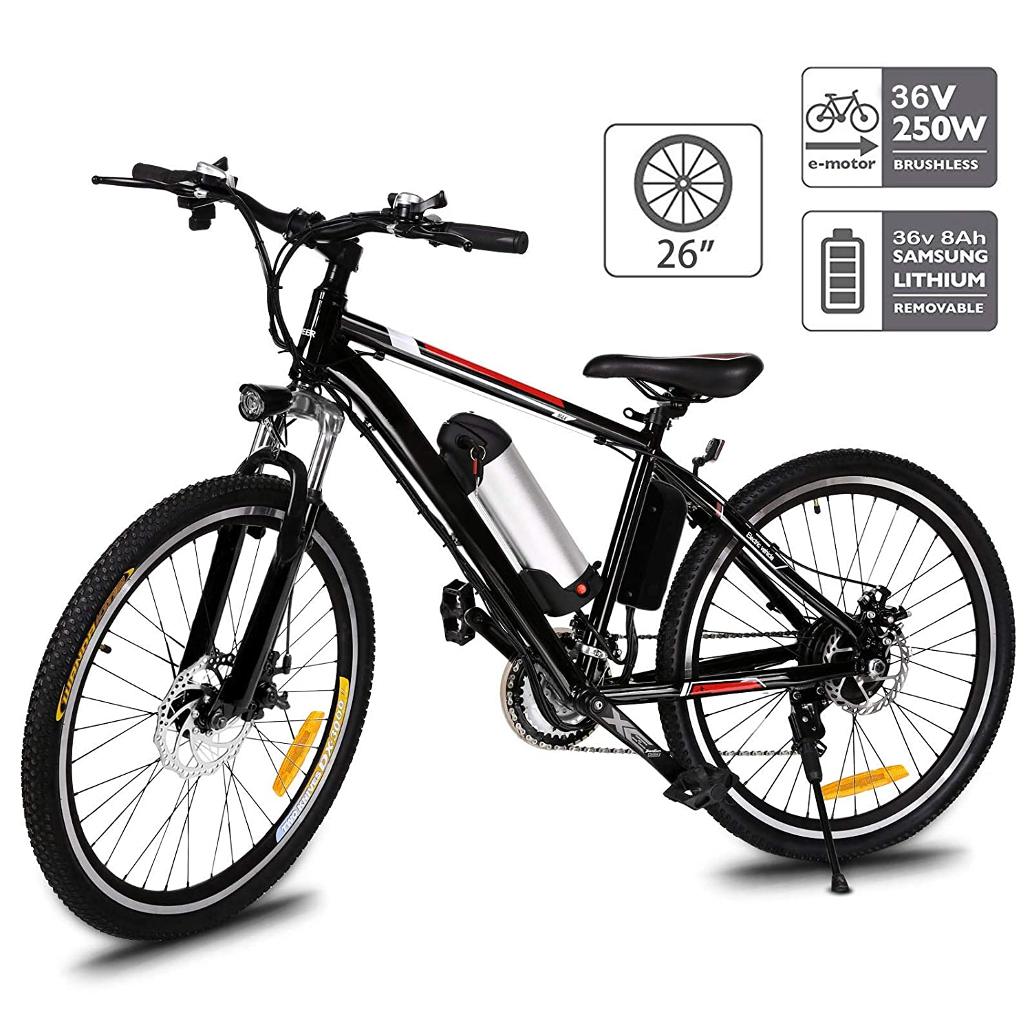 Aceshin 26 Inch Most Powerful Electric Bicycle