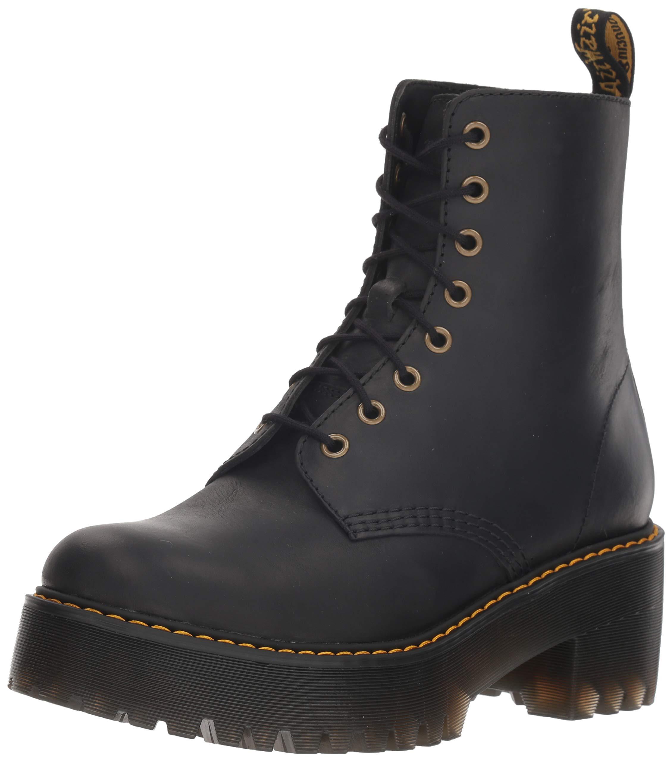 Dr. Martens Shriver Hi Fashion Boot, Black, US Women's 7 by Dr. Martens