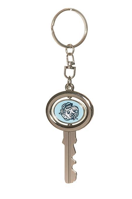 Amazon.com: Llavero con forma de llave giratoria de la ...
