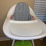 Amazon.com: IKEA PYTTIG alta silla cojín y Cover: Baby
